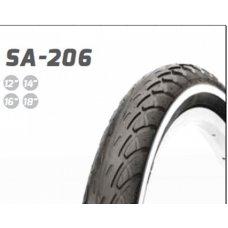 Велосипедная шина   14 * 1,75   (SA-206)   (Delitire)   LTK