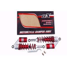 Купить Амортизаторы (пара)   Delta   330mm, газомасляные   (темно- красные)   KOMATCU   (mod.A) в Интернет-Магазине LIMOTO