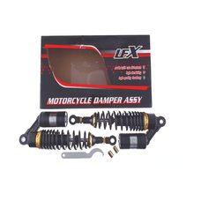 Купить Амортизаторы (пара)   Delta   330mm, газомасляные   (черные)   KOMATCU   (mod.A) в Интернет-Магазине LIMOTO