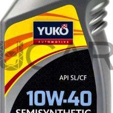 Купить Масло   автомобильное, 1л   (SAE 10W-40, SEMISYNTHETIC, API SL/CF)   YUKO в Интернет-Магазине LIMOTO