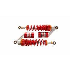 Купить Амортизаторы (пара)   Delta   340mm, газомасляные   (красные)   EVO в Интернет-Магазине LIMOTO