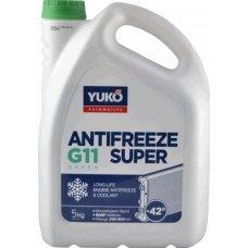 Купить Охлаждающая жидкость   -40C, 5л   (Antifreeze SUPER G11, синий)   YUKO в Интернет-Магазине LIMOTO