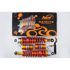 Амортизаторы (пара)   Delta   330mm, газомасляные   (красно- оранжевые)   NDT