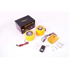 Купить Аудиосистема   (2.5, желтые, сигнализация, FM/МР3 плеер, ПДУ)   CZMP3005-1 в Интернет-Магазине LIMOTO