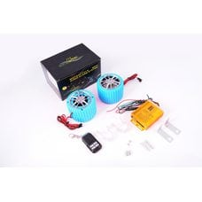 Купить Аудиосистема   (2.5, синие, сигнализация, FM/МР3 плеер, ПДУ)   CZMP3005-2 в Интернет-Магазине LIMOTO