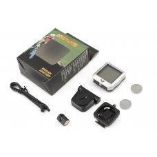Купить Велокомпьютер беспроводной с подсветкой   (mod:YS-618С)   (белый)   YS в Интернет-Магазине LIMOTO