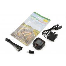 Купить Велокомпьютер проводной без подсветки, водонепроницаемый, 15 программ   (mod:YS-268А)   (красный)   YS в Интернет-Магазине LIMOTO