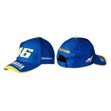 Купить Бейсболка   YMH AND 46 VALENTINO ROSSI   (синяя, 100% хлопок) в Интернет-Магазине LIMOTO