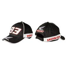 Купить Бейсболка   HONDA AND MARC MARQUEZ   (черная, 100% хлопок) в Интернет-Магазине LIMOTO