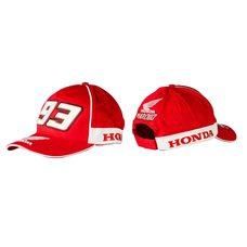 Купить Бейсболка   HONDA AND MARC MARQUEZ   (красная, 100% хлопок) в Интернет-Магазине LIMOTO