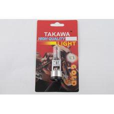 Купить Лампа BA20D (2 уса)   12V 18W/18W   (белая)   (блистер)   TAKAWA   (mod:A) в Интернет-Магазине LIMOTO