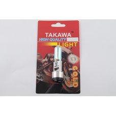 Купить Лампа BA20D (2 уса)   12V 18W/18W   (хамелеон радужный)   (блистер)   TAKAWA   (mod:A) в Интернет-Магазине LIMOTO