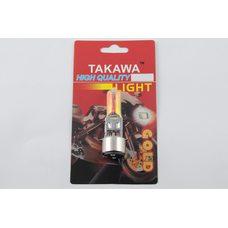 Купить Лампа BA20D (2 уса)   12V 18W/18W   (хамелеон розовый)   (блистер)   TAKAWA   (mod:A) в Интернет-Магазине LIMOTO