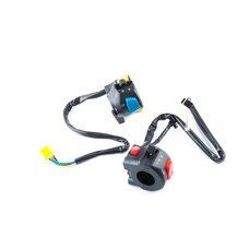 Купить Блоки кнопок руля (пара)   Zongshen ZS125J   (черные)   MANLE в Интернет-Магазине LIMOTO