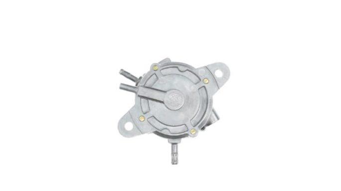 Бензонасос вакуумный   универсальный   (на максискутера 200-600cc, 3 выхода, круглый)   KOMATCU   (mod.A)
