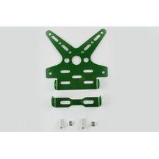 Купить Рамка для крепления номера и поворотников с регулируемым углом наклона    (зеленая)   XJB в Интернет-Магазине LIMOTO