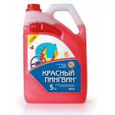 Купить Жидкость для смывания стекол автомобиля 5л.   Красный Пингвин   (ЛЕТО)   (50014)  (#VERYLUBE) в Интернет-Магазине LIMOTO