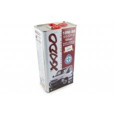 Купить Масло   4T, 5л   (минеральное, 10W-40 SG/CF-4 Silver,  Atomic OIL)   ХАДО в Интернет-Магазине LIMOTO