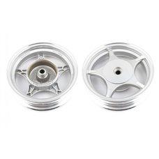 Купить Диск колеса   2,50 * 10   (зад, барабан)   (легкосплавный, 19 шлицов)   ZY в Интернет-Магазине LIMOTO