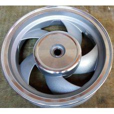 Купить Диск колеса   2,50 * 10   (зад, барабан)   (легкосплавный, 19 шлицов)   SL в Интернет-Магазине LIMOTO
