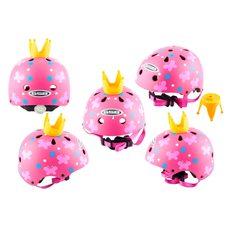 Купить Шлем детский открытый   (розовый)   (PRINCESS)   GSB в Интернет-Магазине LIMOTO