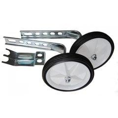 Колеса боковые опорные велосипеда   (пластик) (12-20)   (белые)   YKX