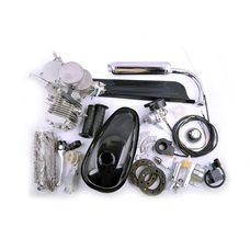 Купить Двигатель велосипедный (в сборе)   80сс   (мех.старт., бак, ручка газа, звезда, цепь, )   EVO в Интернет-Магазине LIMOTO