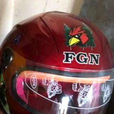 Купить Шлем детский интеграл   (красный)   (MULT)   FGN   (#VV) в Интернет-Магазине LIMOTO