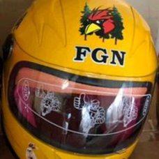 Купить Шлем детский интеграл   (желтый)   (MULT)   FGN   (#VV) в Интернет-Магазине LIMOTO
