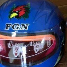Купить Шлем детский открытый   (синий)   (MULT)   FGN   (#VV) в Интернет-Магазине LIMOTO