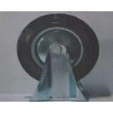 Купить Колесо для тачек и платформ (литая резина) (в сборе с креплением, прямое, без поворота)   (200/50-100mm)   MRHD в Интернет-Магазине LIMOTO