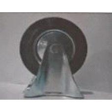Купить Колесо для тачек и платформ (литая резина) (в сборе с креплением, прямое)   (160/40-80mm)   MRHD в Интернет-Магазине LIMOTO