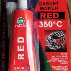 Купить Герметик для прокладок   85г   (красный)   ZOLLEX   (#GRS) в Интернет-Магазине LIMOTO