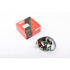 Купить Статор генератора   Yamaha VINO 125, CYGNUS 125 5NW   (6+1 катушек, 5 проводов)   STAR в Интернет-Магазине LIMOTO