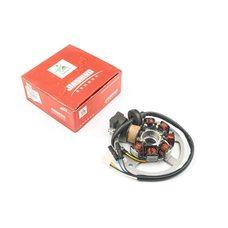 Купить Статор генератора   Yamaha JOG 50   (6+1 катушек, 6 проводов)   (датчик холла на один провод)   JIANXING в Интернет-Магазине LIMOTO