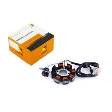 Купить Статор генератора   4T GY6 50   (6+2 катушек, 4 контакта)   HORZA в Интернет-Магазине LIMOTO