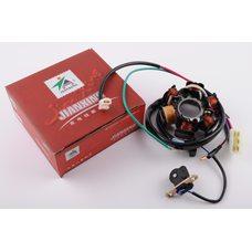 Купить Статор генератора   Honda DIO   (5+1 катушек)   JIANXING в Интернет-Магазине LIMOTO