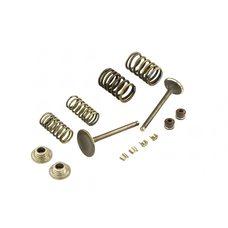 Купить Клапаны (пара, в сборе)   4T GY6 150   (L-66mm) в Интернет-Магазине LIMOTO