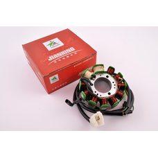 Купить Статор генератора   4T CB/CG 125/150   (9+2 катушек)   JIANXING в Интернет-Магазине LIMOTO