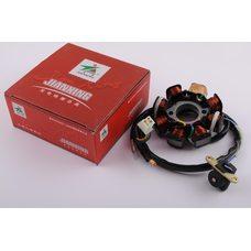 Купить Статор генератора   4T GY6 125/150   (7+1 катушка)   JIANXING в Интернет-Магазине LIMOTO