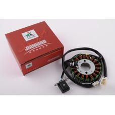 Купить Статор генератора   4T CH250   (18 катушек)   JIANXING в Интернет-Магазине LIMOTO