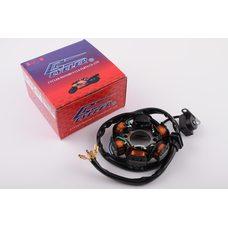 Купить Статор генератора   4T GY6 50   (5+1 катушка)   CYCLER в Интернет-Магазине LIMOTO