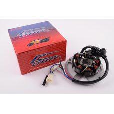 Купить Статор генератора   Yamaha JOG 50   (6+1 катушек, 6 проводов)   CYCLER в Интернет-Магазине LIMOTO