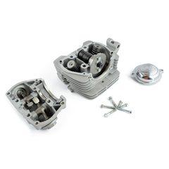 Головка цилиндра   4T CB125   (в сборе, + клапаны, крышка)   EVO