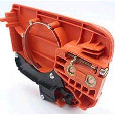 Тормоз ручной б/п (в сборе)   для Husqvarna 235/236/240   (+ натяжитель цепи)   KZ Купить в Интернет-Магазине Лимото