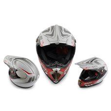 Купить Шлем кроссовый   (mod:B-600) (size:ХL, белый)   BEON в Интернет-Магазине LIMOTO