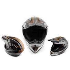 Купить Шлем кроссовый   (mod:B-600) (size:ХL, черный)   BEON в Интернет-Магазине LIMOTO