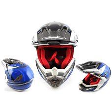 Купить Шлем кроссовый   (mod:435) (size:XL, разноцветный матовый)   X-DRIVE в Интернет-Магазине LIMOTO