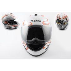 Купить Шлем-интеграл   (mod:HAWK) (size:L, белый) Ш15   YMH в Интернет-Магазине LIMOTO