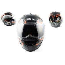 Купить Шлем-интеграл   (mod:HAWK) (size:L, черный) Ш5   YMH в Интернет-Магазине LIMOTO